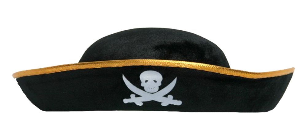 pirate hat.